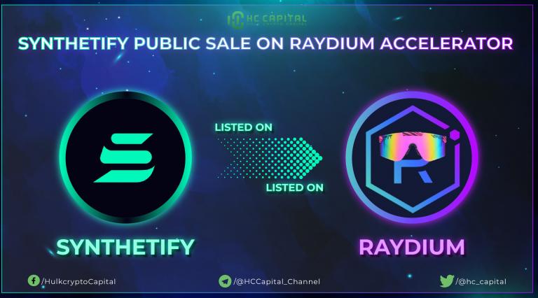 Hướng dẫn tham gia IDO Synthetify trên Raydium AcceleRaytor
