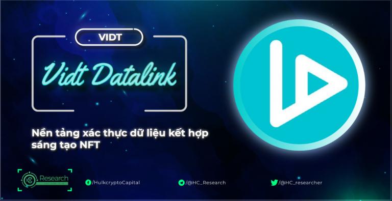 VIDT Datalink (VIDT) là gì? Toàn bộ thông tin về dự án VIDT Datalink