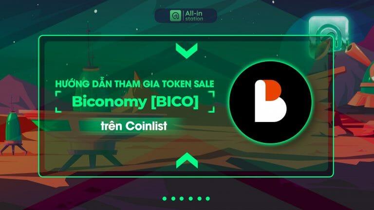 Hướng dẫn tham gia Token Sale Biconomy trên Coinlist